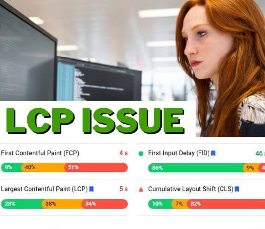 How To Fix LCP Issue